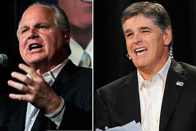Rush Limbaugh and Sean Hannity