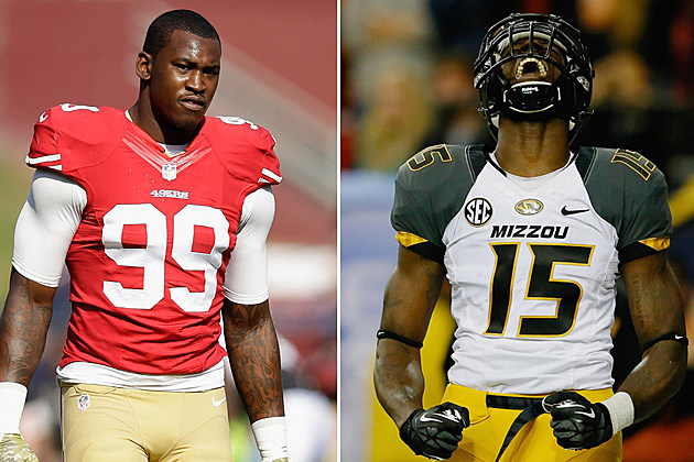 Aldon Smith and Dorial Green-Beckham