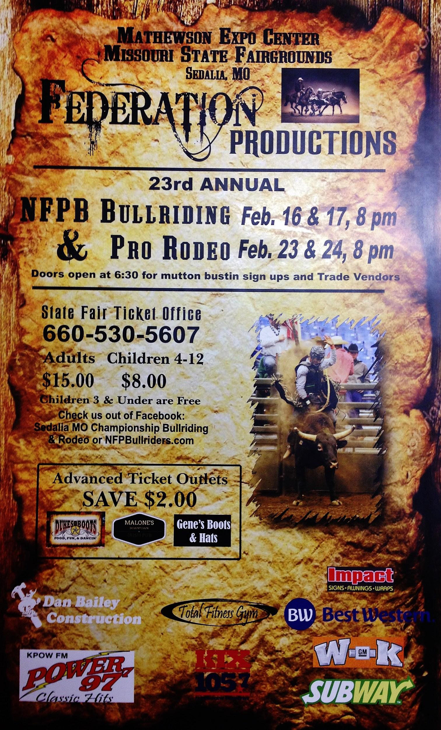 Bullriding Amp Pro Rodeo Coming To Missouri State Fairgrounds